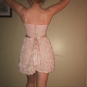 Dresses - Pink Rose Cocktail Dress